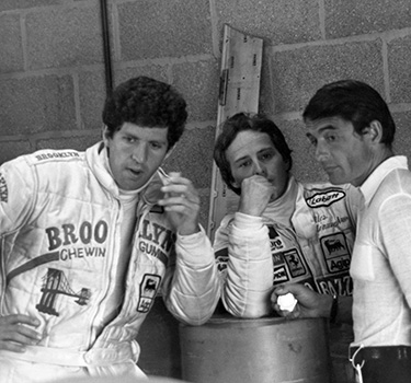 The young driver Jody Scheckter was called by Enzo Ferrari to be part of the Scuderia in 1979.