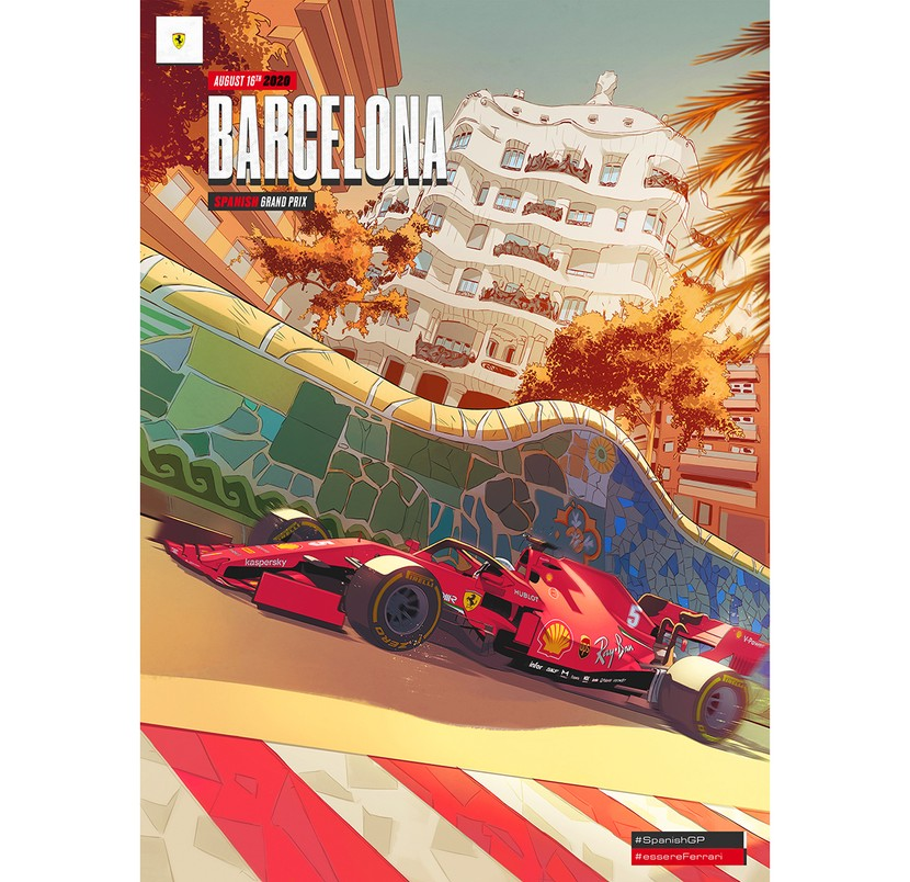 The SF1000 celebrates Barcelona and its thousand souls, speeding by in a blur of colours and shapes, and crossing in the blink of the eye between ages, styles and cultures.