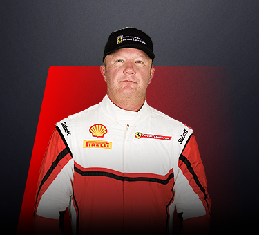 Dave Musial, driver in Ferrari Challenge Europe - Poland