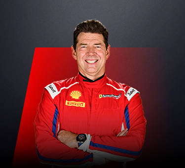 Brent Holden, driver in Ferrari Challenge Europe - USA
