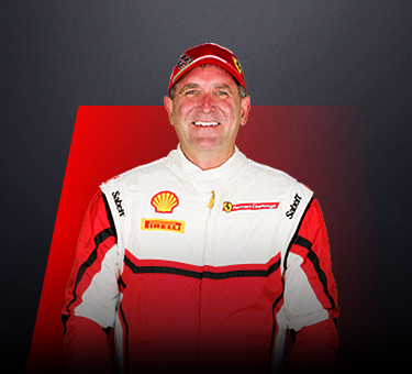 Michael Watt, driver in Ferrari Challenge Europe - USA