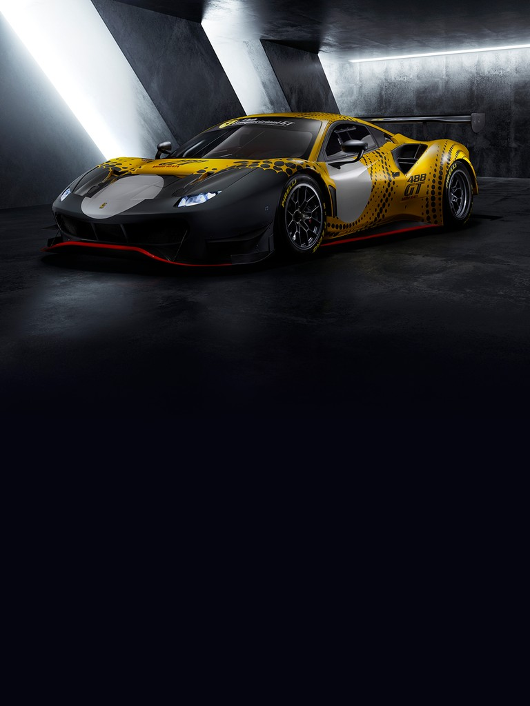 The Ferrari 488 GT Modificata is a limited edition car that incorporates the skills and technologies developed for the 488 GT3 and 488 GTE, transcending the limits imposed by technical and sporting regulations to exploit their full potential.