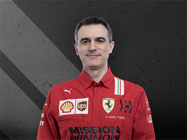 Enrico Gualtieri - Head of Power Unit Area Scuderia Ferrari