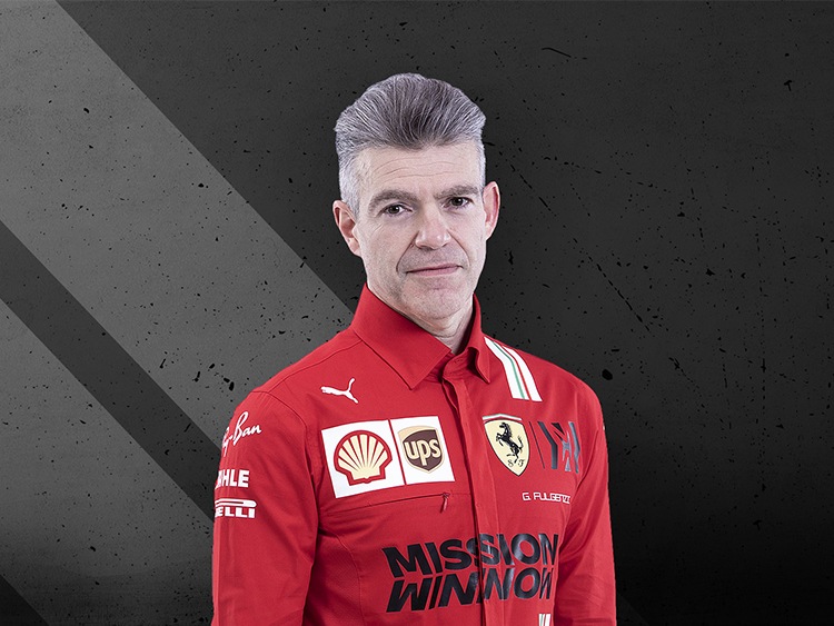 Gianmaria Fulgenzi - Head of Supply Chain for Scuderia Ferrari