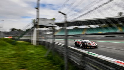 The Italian GT Championship kicks off its season with the Sprint series, for which the temple of speed of the Autodromo Nazionale di Monza provides an ideal stage.