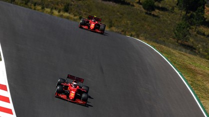 Scuderia Ferrari Mission Winnow's performance in the Portuguese Grand Prix did not live up to its expectations.