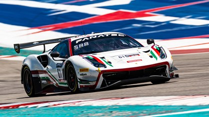 Ferrari secured its second-consecutive weekend sweep Sunday at Circuit of The Americas, winning its fourth race of the 2021 season in the Am class of the GT World Challenge America Powered by AWS.