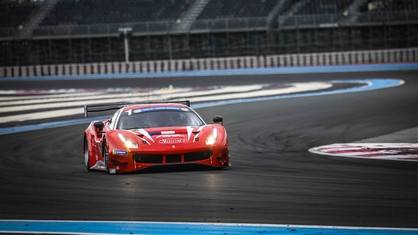 The 4 Hours of Le Castellet, the opening round of the 2021 season of the Ultimate Cup Series, began with third place for the Visiom Racing Ferrari.