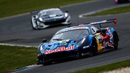 Rain didn't disrupt the teams' plans on day two of DTM pre-season testing at the Lausitzring, near Cottbus in Germany.