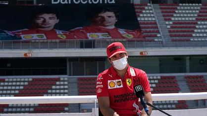 Carlos Sainz sent a message to his fans in the Thursday press conference of his home race, at the Circuit de Barcelona-Catalunya