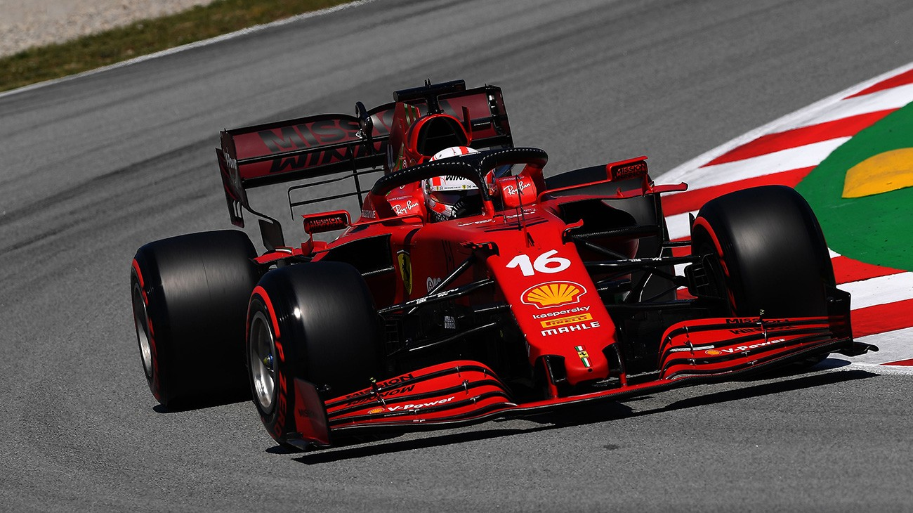 Spanish GP 2021 - Free practice 3: Charles and Carlos third and fourth