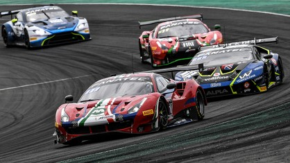 Ferrari - AF Corse once again on the Pro-Am podium at Magny-Cours