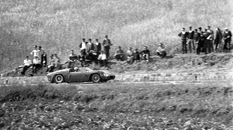 Wolfgang von Trips / Ferrari 246 SP / 1961 Targa Florio  Image is copyright of the Cahier Archive and only purchased (in perpetuity) for a one-time usage in the article called 'A Revolutionary Win'. Any further usage needs to be discussed with the Cahier Archive.   All of the following non-paid usages are not allowed: PR-related purposes (including editorial);   (b) advertising and industry awards, conferences, exhibitions and competitions;   (c) publication of legacy or heritage advertising materials