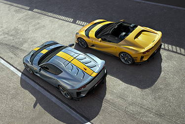 A pair of exclusive new V12s are united by a shared DNA that combines the most powerful road car engine in Ferrari history with groundbreaking aerodynamic and driving technologies.