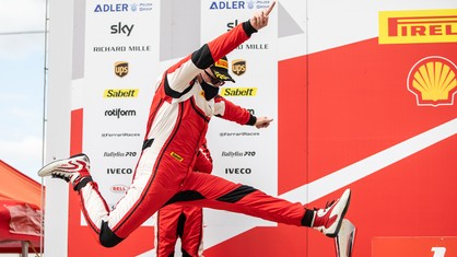 Willem Van Der Vorm moved into top spot in the Coppa Shell overall standings on the back of two pole positions and two victories at Brno.