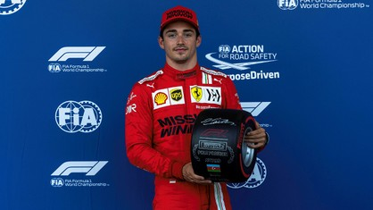 For the second race in a row, Charles Leclerc has secured pole position and tomorrow at 16 local (14 CET), he will start the Azerbaijan Grand Prix at the head of the field.