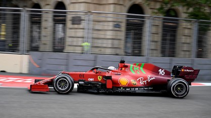 Scuderia Ferrari Mission Winnow leaves Baku and the Azerbaijan Grand Prix with a fourth and an eighth place for Charles Leclerc and Carlos Sainz respectively.