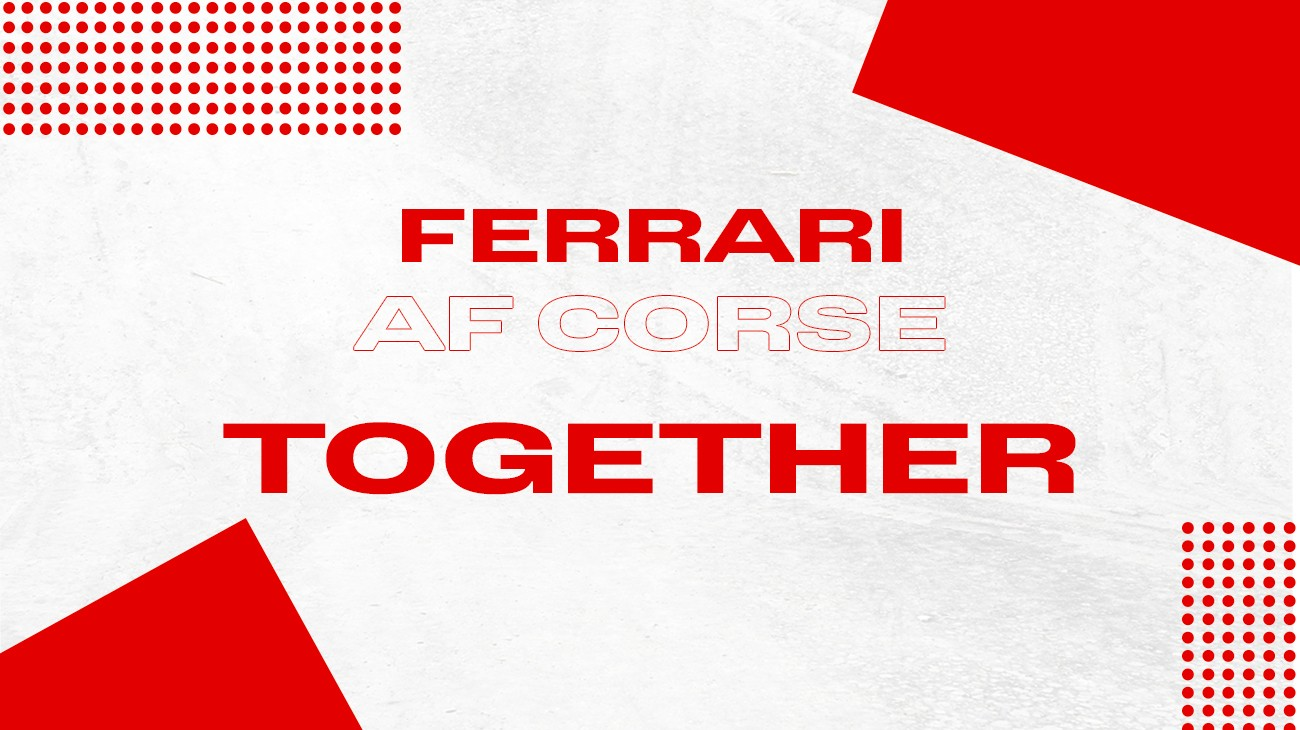 Ferrari officially announced its partnership with AF Corse to collaborate in the management of  the team that will work alongside Competizioni GT in the Le Mans Hypercar (LMH) programme.