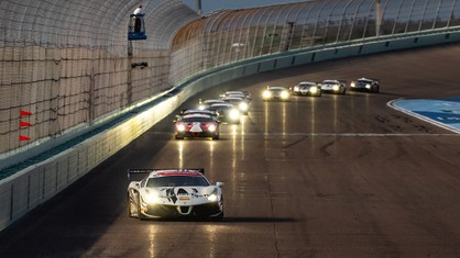 The Ferrari Challenge completed the first half of its North American season at Homestead-Miami Speedway with the completion of Race 1 on Friday evening.