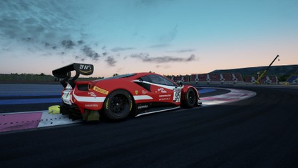 The FDA Esports Team's David Tonizza has kept the lead in the GT World Challenge Europe Sprint Series after coming second in the second round of the series at the Paul Ricard track.