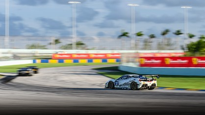 After a long night of racing on Friday, the drivers of the Ferrari Challenge series were back at it this morning at Homestead-Miami Speedway, working to set their best laps as the season ticks over to its second half.