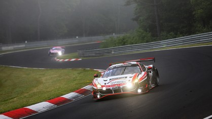 Third place in the SP9 Pro-Am class went to the 488 GT3 Evo 2020 of WTM powered by Phoenix at the end of the shortest Nürburgring 24 Hours in history.