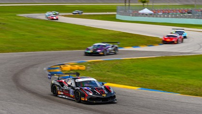 The North American competitors of the Ferrari Challenge championship completed their fourth round under the heat and humidity of South Florida at Homestead-Miami Speedway.