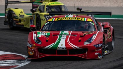 Four hours after the gantry lights went out, the two AF Corse 488 GTEs are currently leading in the LMGTE Pro class, while the Cetilar Racing entry and the AF Corse #54 occupy second and third spot in LMGTE Am.