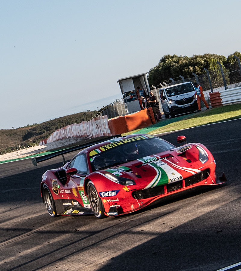 Splendid achievement for the Ferrari crews at the Portimão 8 Hours, the second round of the FIA World Endurance Championship.