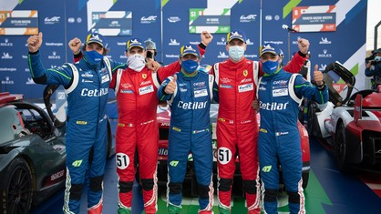 The Ferrari Drivers comments after the 8 Hours of Portimão (WEC)