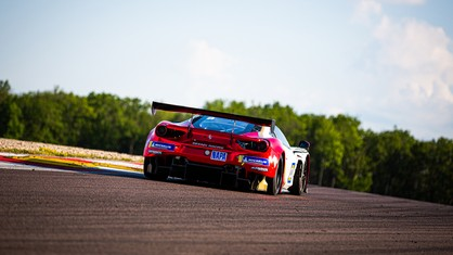 Vision Racing claimed an excellent third place in the GT-Touring Endurance, the first round of the Ultimate Cup Series, held over the weekend at Dijon.
