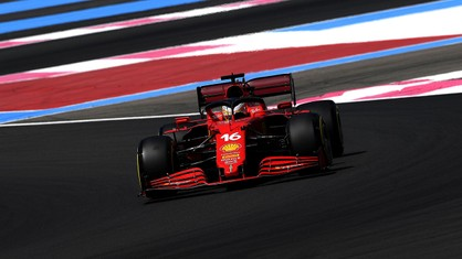 In the first free practice session for the French Grand Prix, Charles Leclerc and Carlos Sainz each completed 24 laps, evaluating all three tyre compounds.