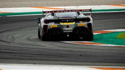 Having made his Ferrari Challenge debut only in 2020, and after a season's apprenticeship, Willem Van Der Vorm tops the Coppa Shell Am standings, despite a misstep at Spielberg.