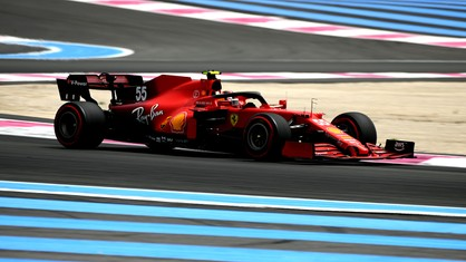 Carlos Sainz will start the French Grand Prix from fifth on the grid, when the race starts at 15 CET at Le Castellet tomorrow. In the other SF21, Charles Leclerc will be right behind him in seventh place.