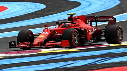 Scuderia Ferrari put up a satisfactory qualifying performance for tomorrow's French Grand Prix.