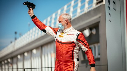 Joakim Olander claimed the top step of the podium in Coppa Shell Am Race-2 in his first experience at the Valencia circuit.