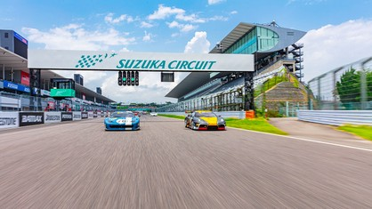 Club Competizioni GT's return to Japan featured a record number of participants, with 24 cars registered for the event on a track historically popular among drivers.