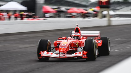 The historic Indianapolis Motor Speedway was again graced with the sound of Ferrari Formula 1 cars as F1 Clienti took to the track as part of the Ferrari Racing Days celebration.