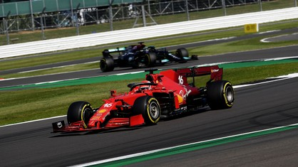 Charles Leclerc produced a stellar performance in the British Grand Prix at Silverstone.