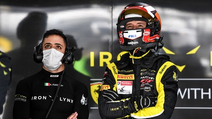 Italian racing team Iron Lynx announced today that British racing driver Callum Ilott, Scuderia Ferrari's official Formula 1 test driver, will drive for the team in the legendary 24 Hours of Le Mans race on the weekend of 21/22 August.