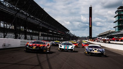 Ferrari Racing Days concluded on a high note under perfect, blue skies at the famed Indianapolis Motor Speedway.