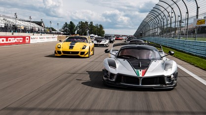 After the resounding success of the Ferrari Racing Days, which ended over the weekend at Indianapolis, XX Programme and F1 Clienti customers performed two more days of private testing at Watkins Glen.