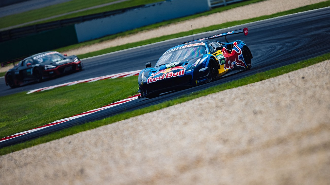 Excitement swirled at the Lausitzring as the second weekend of the DTM season came to a close, with Liam Lawson's Ferrari taking second place and Alex Albon's eleventh.