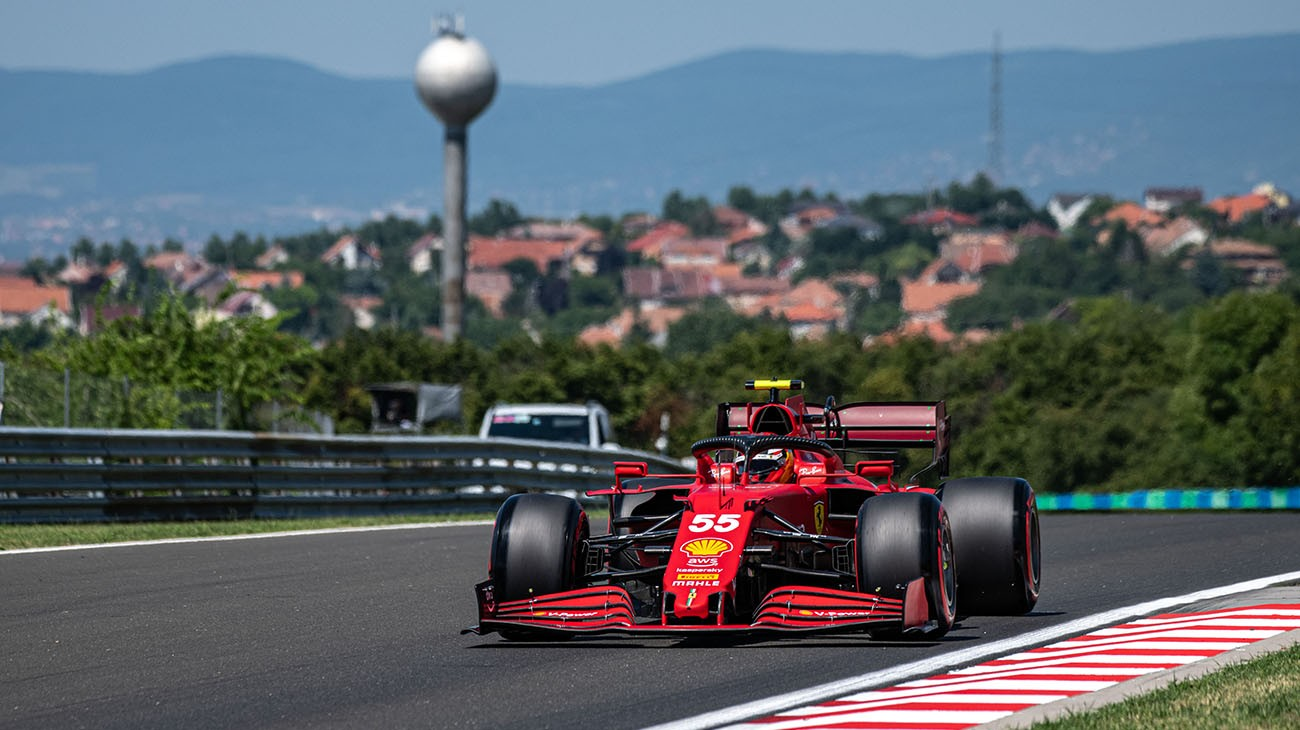 The Friday of the Hungarian Grand Prix saw the hottest conditions of the season so far, with air temperature hitting 33 degrees Celsius in the afternoon session and the track going past 60.