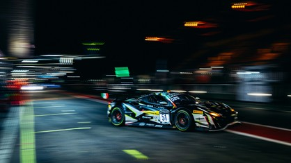 Iron Lynx Ferrari #51 leads the race after six hours, taking the first points of the Belgian marathon.
