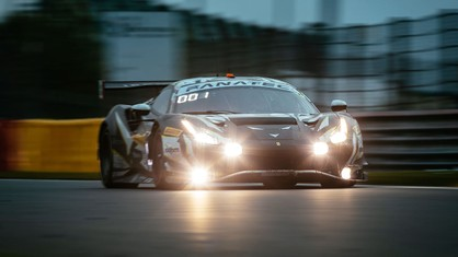 After 12 hours of racing, the #51 Iron Lynx Ferrari heads the field in the Pro class, while three 488 GT3 Evo 2020's hold the top three positions in the Pro-Am.