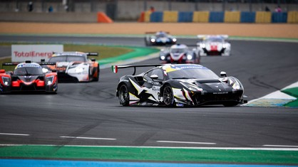 In Race-2 of the Road to Le Mans, the crew of Rory Pentinnen and Logan Sargeant, starting on pole and leading for most of the race, missed out on a repeat win on the last lap.