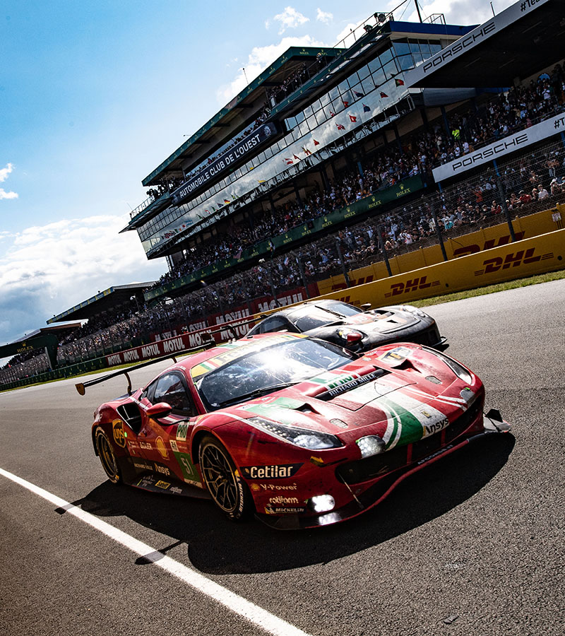 The 89th edition of the 24 Hours of Le Mans, the oldest and most prestigious endurance race and the fourth round of the FIA WEC World Championship, was dominated by AF Corse's 488 GTEs, which triumphed in the LMGTE Pro and LMGTE Am classes.