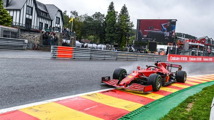 Scuderia Ferrari continues to have a difficult time at the Belgian Grand Prix weekend.