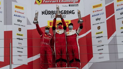 The second round of the Coppa Shell at Nürburgring saw James Weiland and Ingvar Mattsson claiming the honours among the Am class drivers.